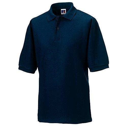 À Bleu Russell Homme Polo Manches Courtes 7Ynxa5xXR