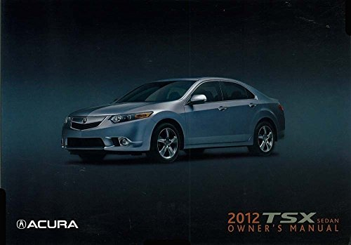 2012 acura tsx owners manual - 3