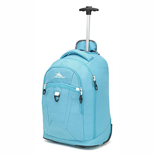 High Sierra Drydin Wheeled Backpack Tropic Teal/White