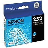 Epson T252220 (252) DURABrite Ultra Ink, Cyan (EPST252220)