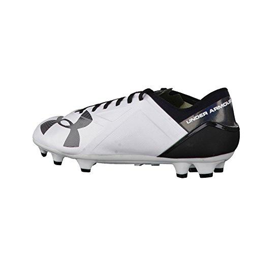 Under Armour–Scarpe da calcio Spotlight BL FG Uomo 1272300, Uomo, bianco, 44