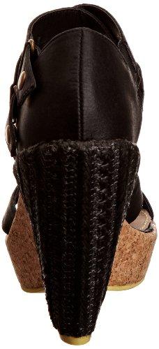 Feud Britannia Banter - Sandalias de vestir para mujer Negro (Schwarz (Black Vintage))