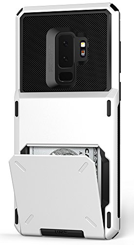 Galaxy S9 Plus Wallet Case :: VRS :: Full Body Protective Armor :: Hybrid Card Slot Holder :: ID Credit Card Travel Wallet for Samsung Galaxy S9 Plus (Damda Folder - Cream White) by V VRS DESIGN