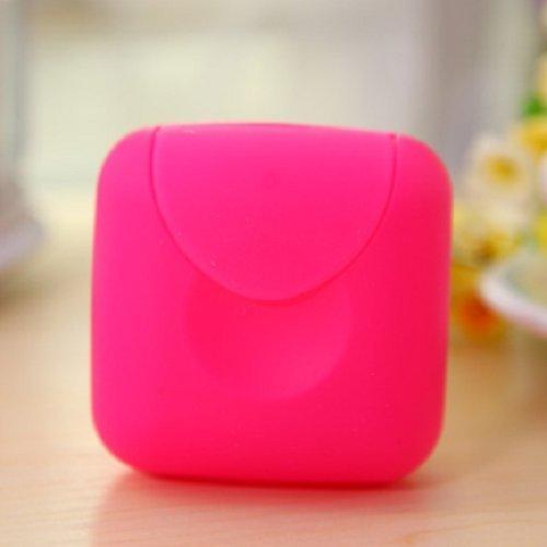 color caramelo color rosa tama/ño peque/ño contenedor//caja//soporte//organizador Grifri 2 piezas hermosas y bonitas//bonitas jab/ón port/átil para el hogar//senderismo//viaje//camping
