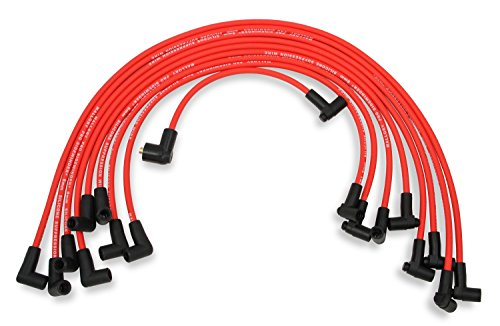 Mallory 600 Pro Wire Set 8mm Red Silicone Jacket Black Plug Boots Pro Wire Set ()