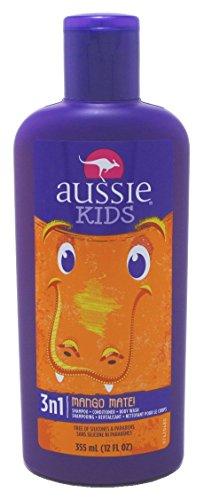 Aussie Kids Mango Mate 3 in 1 Shampoo and Conditioner Body W