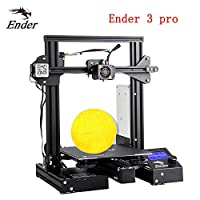 Creality Ender 3 Pro 3D Printer with Upgrade Cmagnet Build Surface Plate and UL Certified Power Supply