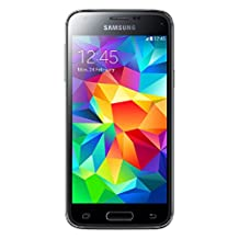 Samsung Galaxy S5 Mini SM-G800H/DS 16GB Unlocked GSM, Import, Blue, Retail Packaging