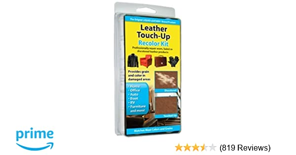 Amazon.com: Invisible Repair Liquid Leather Touch Up Recolor Kit