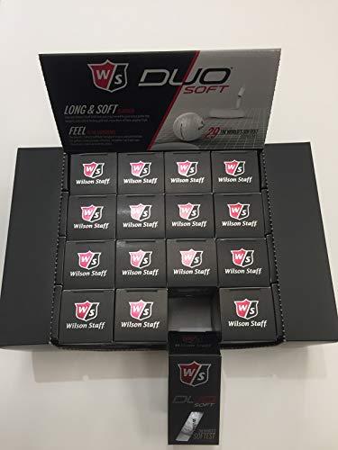 Wilson Staff Duo Soft Golf Balls, 4-Dozen Box, 24-2 Packs