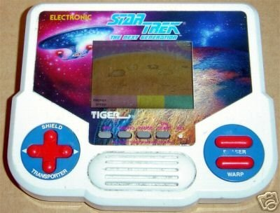 Star Trek the Next Generation Handheld by Tiger Electronics