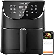 COSORI Smart WiFi Air Fryer(100 Recipes), 13 Cooking Functions, Keep Warm & Preheat & Shake Remind, Wo