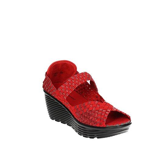 Femme Rouge PCAKATE Chaussures Pregunta 004 Toe Open FSwWZqU