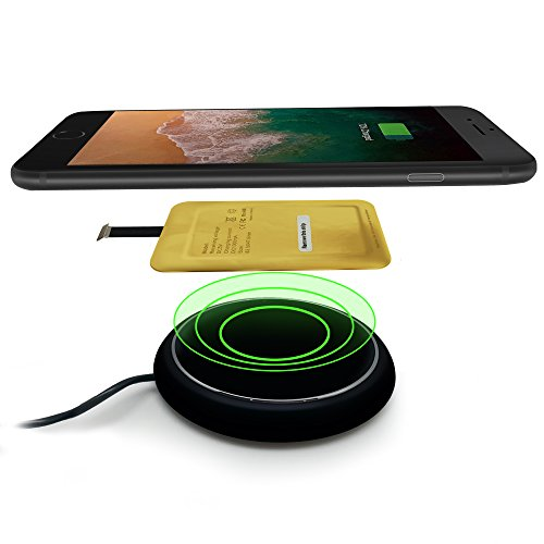 Type A Qi Wireless Charger Adapter for Samsung Galaxy A02 A01 A10 A10s J7 J8 J6 J3 A7 A8 - LG V10 K10 K20 K40 - LG Stylo 2 3 4 - QI Wireless Adapter Micro USB Connector - QI Wireless Receiver