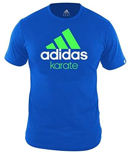 adidas commu Nity Maglietta Karate Unisex Blu Taglia S/ /S