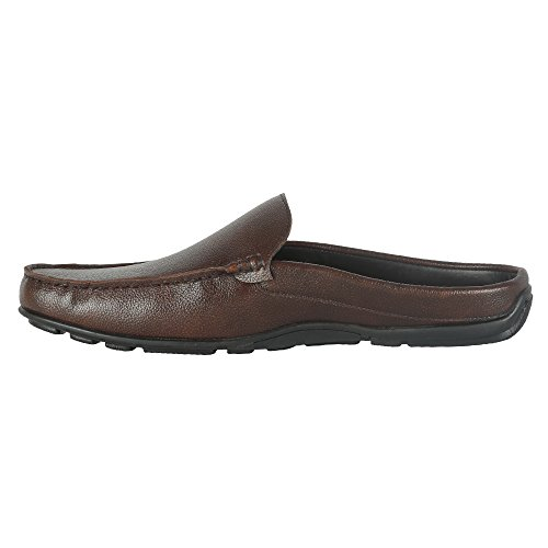 Mancini Men's Brown Synthetic Loafers (450079100007) – 6 UK