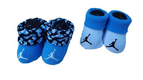 (Nike Jordan Infant Boys 2-Pair Booties, 0-6 Months)