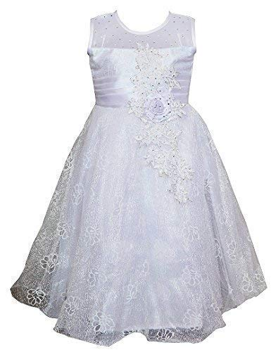 9913cf26c Twinkle Star Baby Girls Fairy Frock Dresses Wear (3-4 Years) White ...