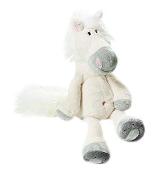 NICI 32223 - Caballo blanco de peluche, 15 cm [Importado de Alemania]