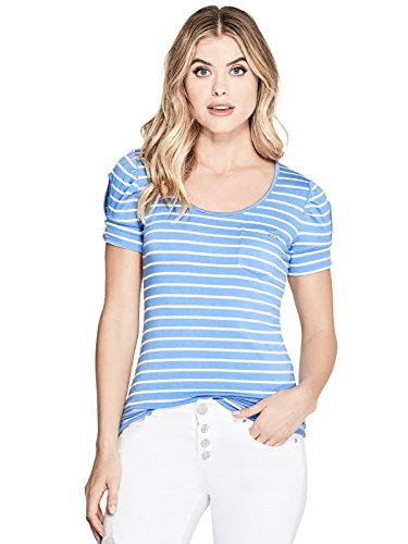 GuessFactory Adria Short Sleeve Striped Top