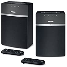 Bose SoundTouch 10 Wireless Music System Bundle 2-Pack - Black