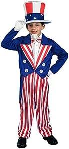 Costume Child Uncle Sam Large (accesorio de disfraz)