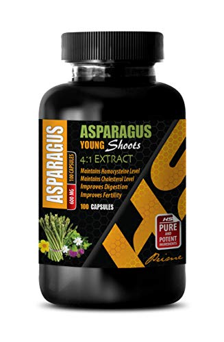 Memory Vitamins Brain for Women - Asparagus Young Shoots 4:1 Extract 600 MG - antioxidant Supplement for Women - 1 Bottle 100 Capsules
