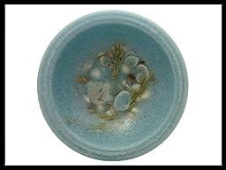 Habersham Wax Pottery Bowl, Seascape