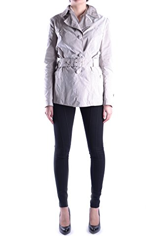 Geospirit Mujer MCBI134007O Gris Poliéster Trench Coat