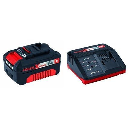 Einhell Power X-Change - Batería (18 V, 3.0 Ah, 60 min) + ...