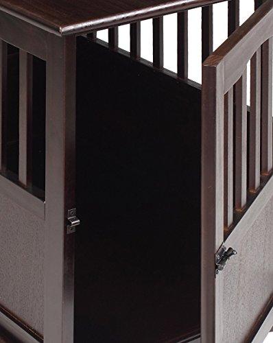 Casual Home 600-44 Pet Crate, Espresso, 24 Inch