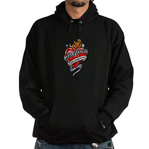 CafePress Autism Tattoo Heart - Pullover Hoodie, Classic & Comfortable Hooded Sweatshirt