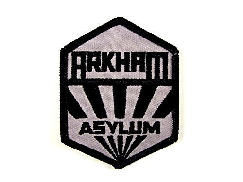 BATMAN Arkham Asylum Sanatorium Uniform Logo PATCH by Main Street Dancewear by Main Street Dancewear -