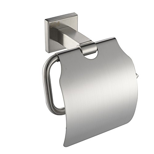 1 Pack Toilet Paper Holder Cover Sus 304 Stainless Steel