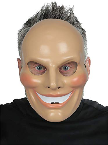 Mario Chiodo Adult Sinister Smiley Movie Theme Party Halloween Costume Mask -