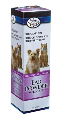 FOUR PAWS PRODUCTS - EAR POWDER DOG MEDICATED 24 GM