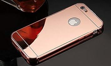 Coque Iphone 5C Aluminium Miroir Coloris Rose Or Etui Housse Bumper Apple