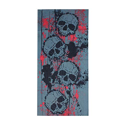 Multi Magic Scarf - andy cool New Magic Cycling Bike Bicycle Riding Headband Skull Printed Multi Head Scarf Useful and Practical