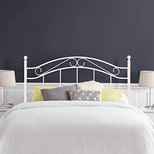 Dorel Living Winnie Headboard, Full/Queen, White
