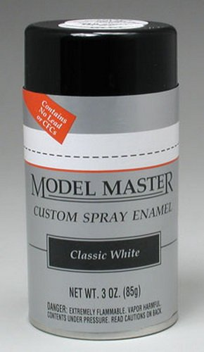 Testors Model Master Automotive Enamel Classic White Spray ()