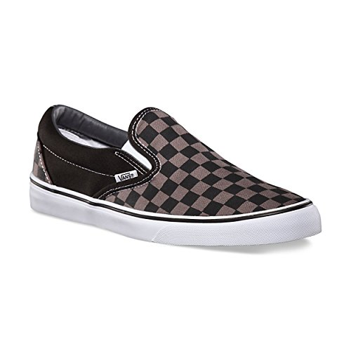 Vans Unisex Checkerboard Slip-On Black/Pewter Check VN000EYEBPJ Mens 10, Womens 11.5 (Vans Check)