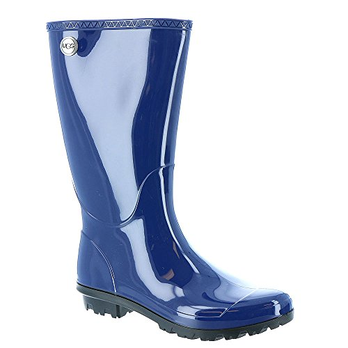 UGG Women's Shaye Rain Boot, Blue Jay, 8 B US ()