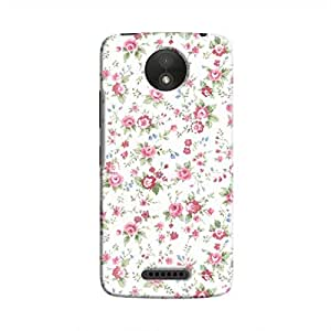 Cover It Up - Flower Shower Moto C PlusHard Case