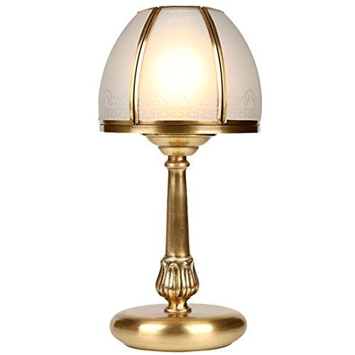 Yxx max *lampara Mesa Lámpara de Cobre, Dormitorio ...