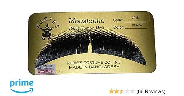 Rubies Costume Co Gentlemans Human Hair Mustaches