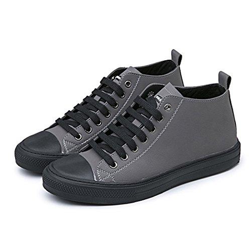 Uomo Outdoor Sport Running Scarpe Da Trekking Leggero Casual Sneakers W8181 Grigio