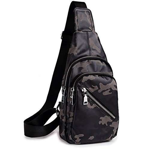 Ligero camouflage Hombro para triángulo dust Lindo mochila pecho Daypacks pequeño mochilas Multipurpose honda adultos bolsas paquete camouflage Crossbody dust r4qZOr8nw