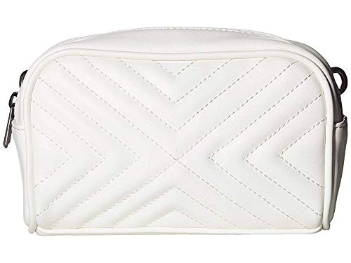 Sam Edelman Women's Baker Camera Belt Bag, White, One Size