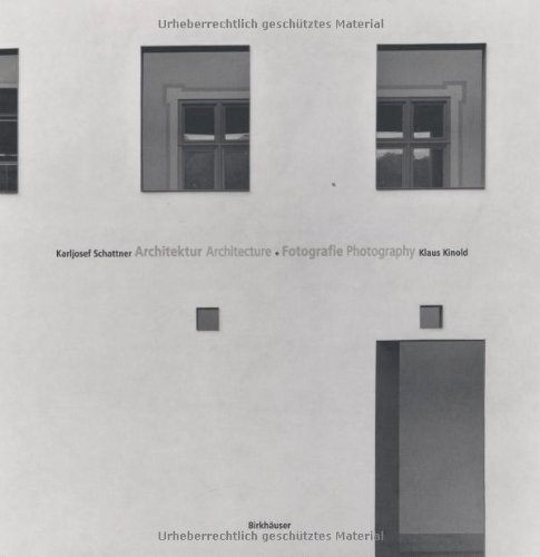 Karljosef Schattner Kalsu Kinold Architecture and Photography PDF