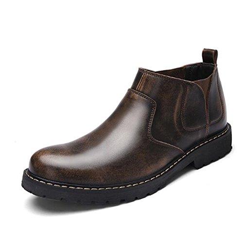 Nouveau En Cuir Hommes Bottes Vente Chaude Hommes Bottes En Caoutchouc De Mode Hommes Hiver Chaussures Imperm